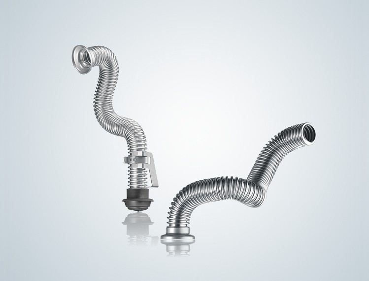 Corrugated Hoses for Fluid Handling Image Text