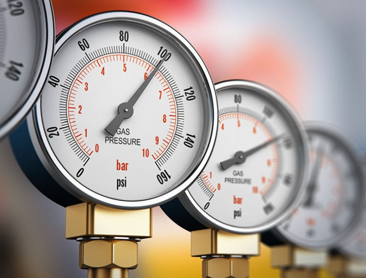 Technical Gases Pressure Display Image Text