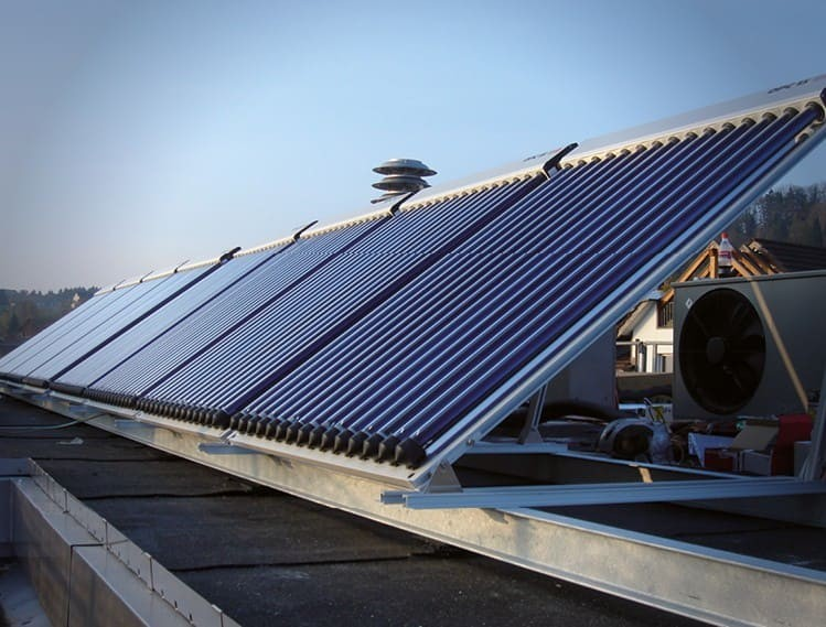 Thermal Solar Panels Image Text